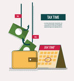 Tax time concept. Stock Images