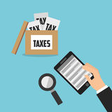 tax time design Stock Images