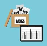 tax time design Stock Photo