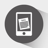 Tax time design. Illustration eps10 graphic Stock Photos