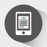 Tax time design Stock Photo