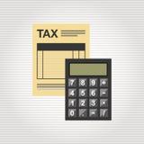 Tax time design Stock Image