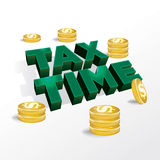 Tax Time Income Tax Concept Illustration Stock Image