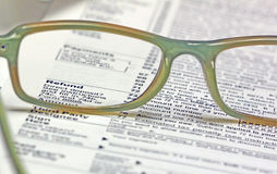 Tax Time - Refund Stock Photo