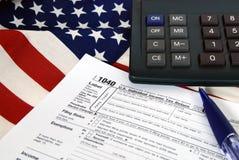 Tax Time Tools Stock Photos