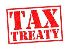 TAX TREATY Stock Photography