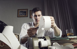 Tax Troubles Stock Photography