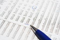 Taxa conservada em estoque marcada Fotografia de Stock