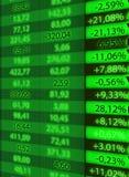 Taxa de câmbio conservada em estoque Imagens de Stock Royalty Free