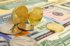Taxa de câmbio do rublo Fotos de Stock