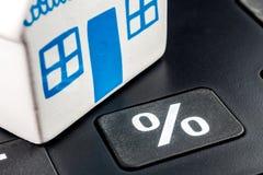 Taxa de juros hipotecários calculadora Fotos de Stock