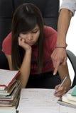 A taxa de matrícula de Privat, ônibus confidencial ajuda o estudante Fotografia de Stock
