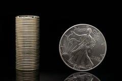 Taxa de moeda imagem de stock