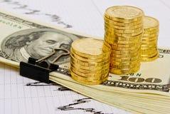 Taxa do rublo. Imagens de Stock