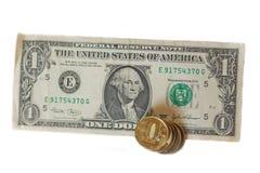 Taxa do rublo Imagens de Stock Royalty Free