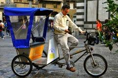 taxa trehjulingen Fotografering för Bildbyråer