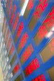 Taxas de câmbio Fotografia de Stock