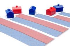 Taxas de hipoteca Foto de Stock