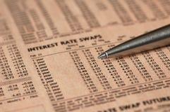 Taxas de interesse Imagem de Stock Royalty Free