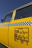 Taxas velhas do táxi de New York Fotografia de Stock