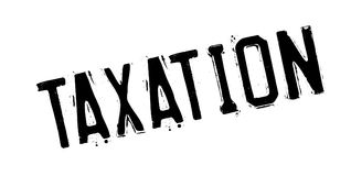 Taxation rubber stamp. Grunge design with dust scratches. Effects can be easily removed for a clean, crisp look. Color is easily changed Stock Photography