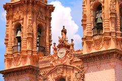 Taxco大教堂IV 免版税库存图片