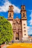 Taxco,墨西哥建筑学  库存图片