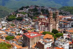 Taxco aerial I Stock Photo