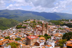 Taxco aerial III Royalty Free Stock Photos
