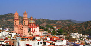 Taxco Ansicht Stockfotografie