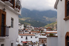 Taxco houses and Church Stock Image