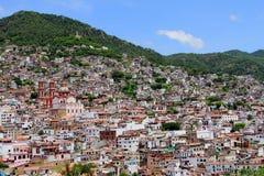 taxco iv города стоковое изображение