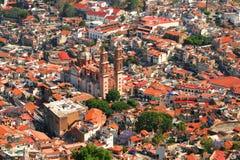 Taxco Luftaufnahme Lizenzfreie Stockbilder