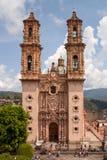 Taxco Santa Prisca Church Stockbilder