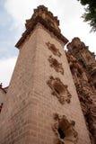 Taxco Santa Prisca Church arkivbild