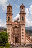 Taxco Santa Prisca Church Stock Images