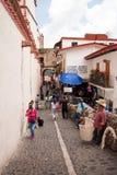 Taxco-Straßen-Hausierer Stockfoto