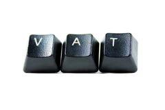Taxe à la valeur ajoutée images stock