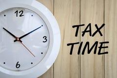 Taxe o tempo Foto de Stock Royalty Free