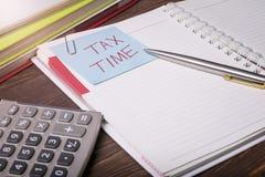 Taxe o tempo Foto de Stock