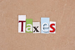 Taxes Royalty Free Stock Image