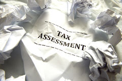 Taxes Assessment!! Royalty Free Stock Photos