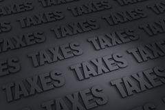 Taxes Background Stock Photos