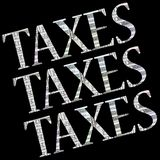 Taxes Background Royalty Free Stock Images