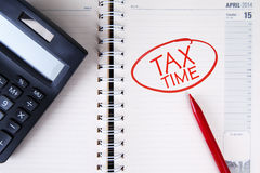 Taxes Concept Stock Photography