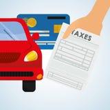 Taxes design. finance icon. Taxation concept Royalty Free Stock Photo