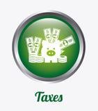 Taxes design Royalty Free Stock Photos