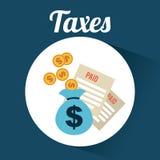 Taxes design Stock Photography