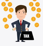Taxes design. Stock Images