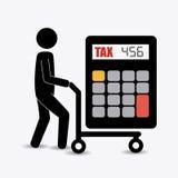Taxes design. Stock Photo